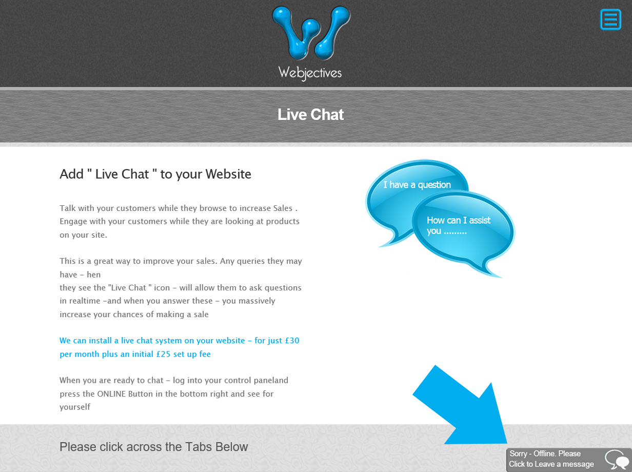 Live Chat lesson 8