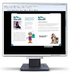 Flash Driven Online Brochure