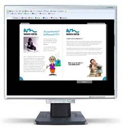 Flash Driven Online Brochure